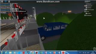 Der gesamte Bahnübergang auf Clay und Area roblox