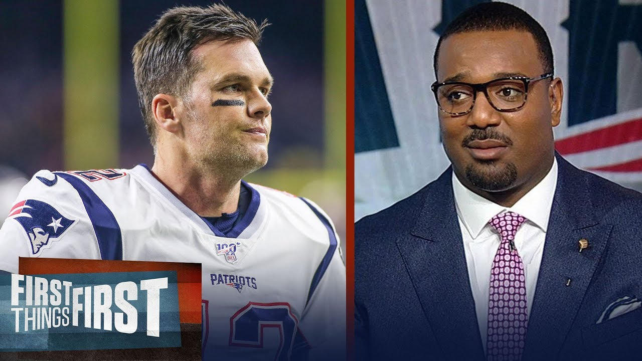 Chris Canty doubts this is Tom Brady's final season in a Patriots uniform | NFL | FIRST THINGS FIRST