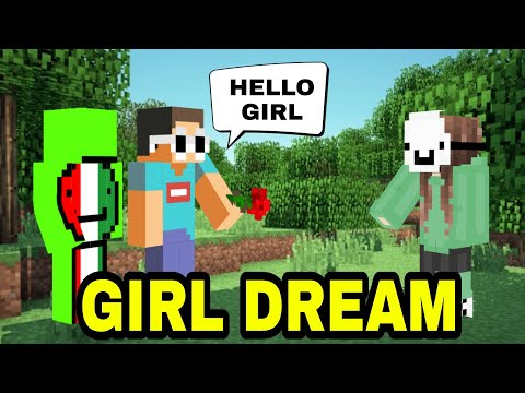 Dream Turns Into a GIRL and FLIRTS with Men on The Dream SMP!