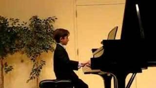 Ben Gottesman Piano - Clementi Sonatina in C Major Vivace