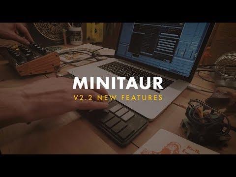 Minitaur v2.2 New Features