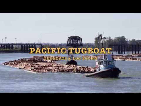 PACIFIC TUGBOAT  Tugboats and Log Booms 2017