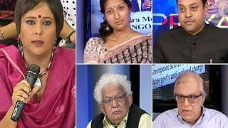 Cover images Rajiv Malhotra on NDTV's We the People_Debate on Foreign NGOs #1