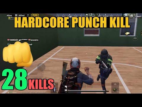 World Record In Hardcore Mode | 28 Kills Solo Vs Squad | PUBG Mobile