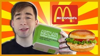 Mcdonalds Artisan Chicken Sandwich-the Food Review-ep.21
