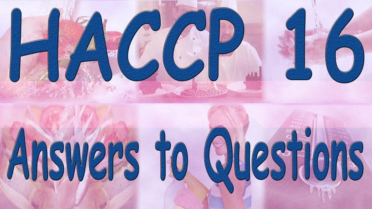 Haccp Answers To Quiz Questions