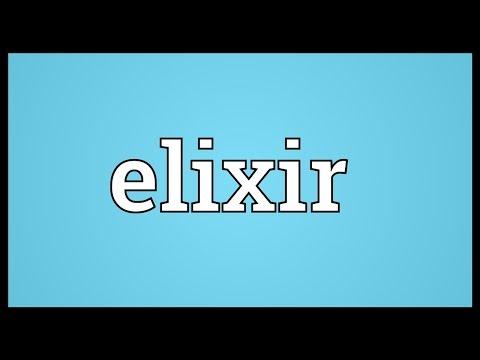 Elixir Meaning