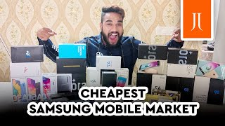 Cheapest Samsung Mobile Market in Delhi   Second Hand Samsung Mobile Market    JJ Communication  