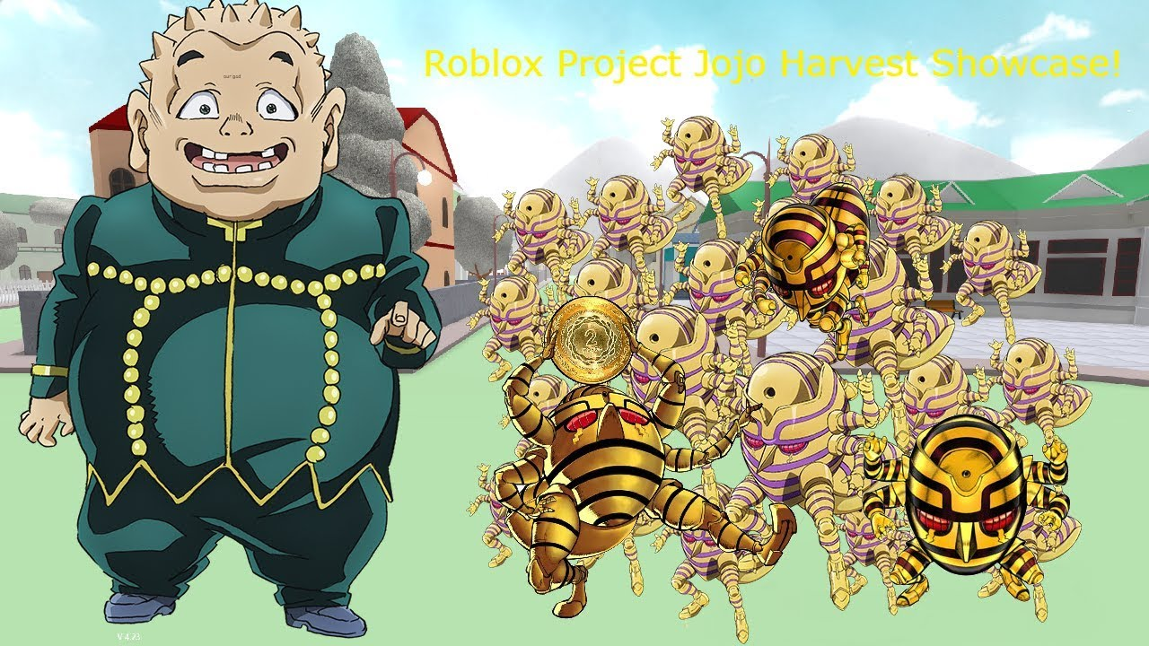 Roblox Project Jojo Harvest Showcase!