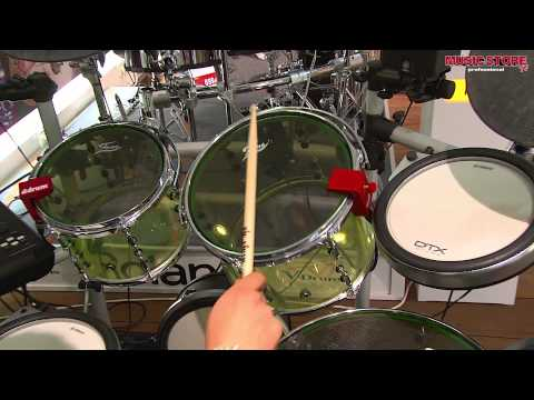 roland rt 30 series drum triggers demo by sweetwater sound doovi. Black Bedroom Furniture Sets. Home Design Ideas