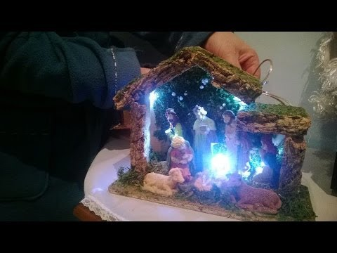 Diy come collegare i led per illuminare un presepe youtube