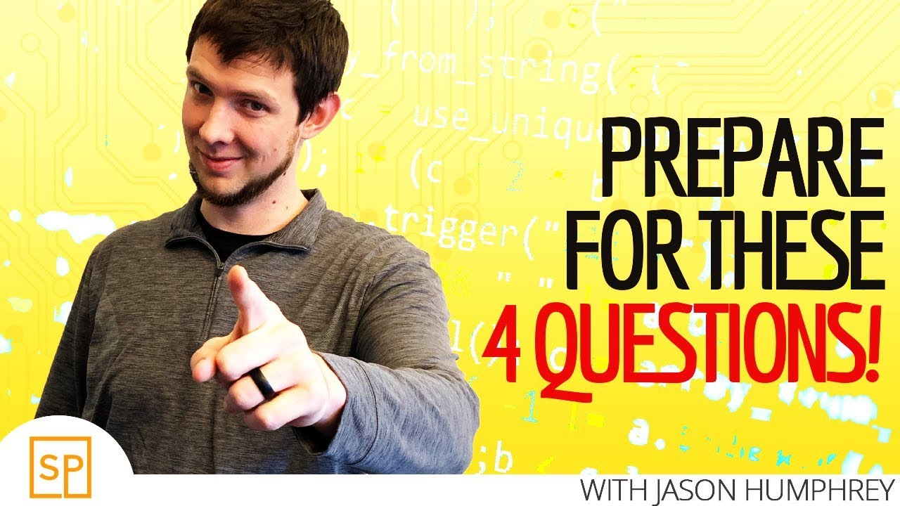 4 Coding Interview Questions You Should ABSOLUTELY Prepare For