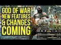 God of War Update - Sony 'Aware' of New Game Plus Request & New Features COMING (God of War 4)