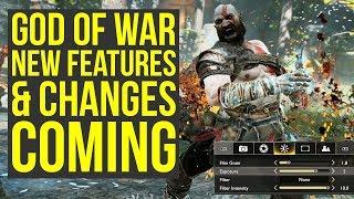 God of War Update - Sony