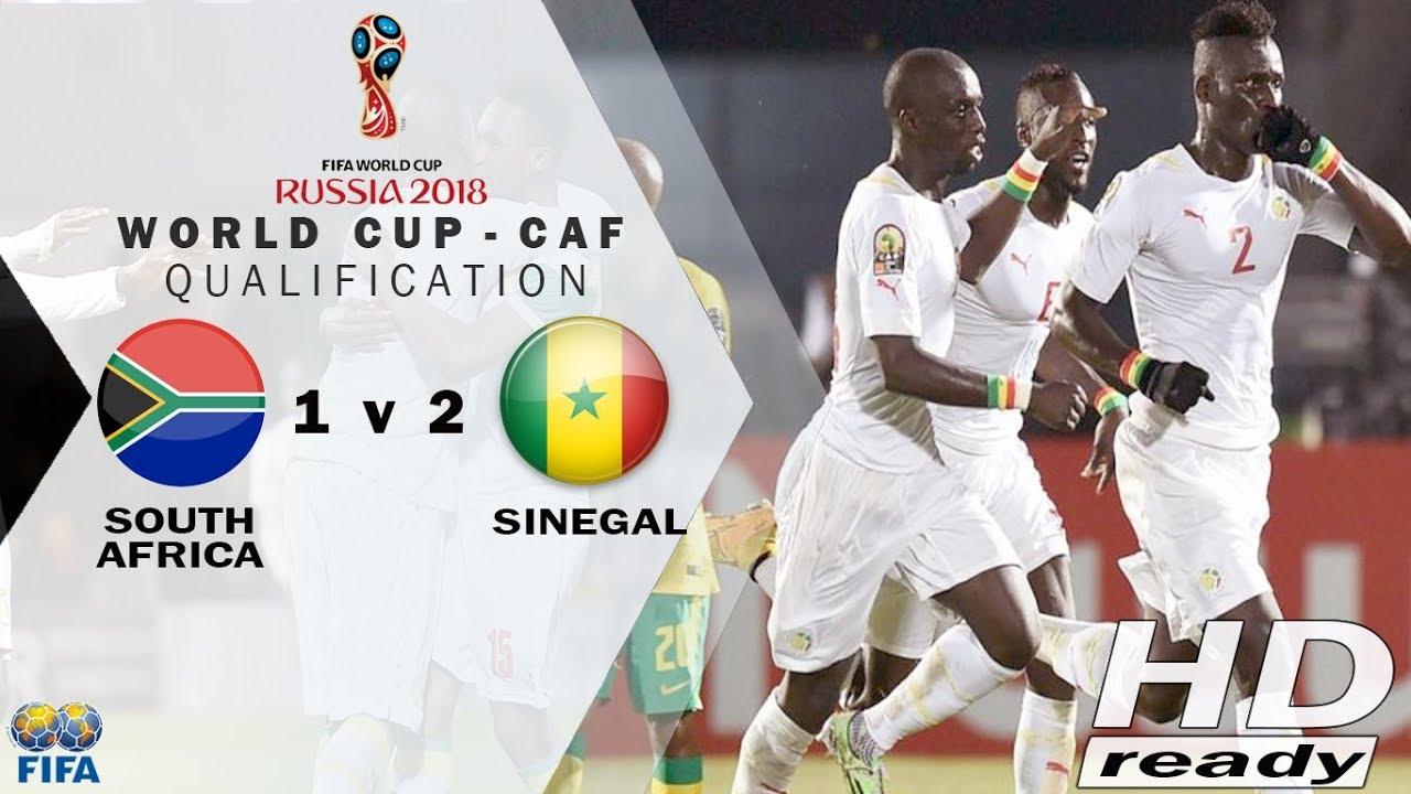 ЮАР - Сенегал 0:2 видео