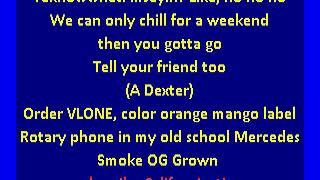 Famous Dex (Feat. A$AP Rocky) - Pick It Up (karaoke)