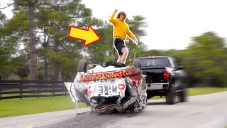 Download Car Surfing with Danny Duncan! Mp3 and Videos