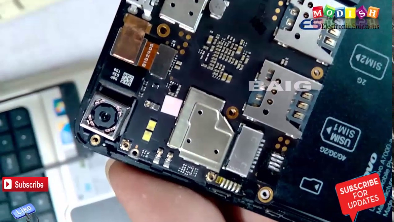 How To Lenovo A7000 Disassemble And Touch Screen Digitizer Assembly