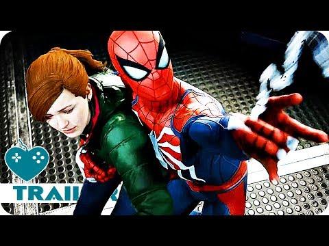 Marvel's Spider-Man Story Trailer SDCC 2018 (2018) PS4 Game