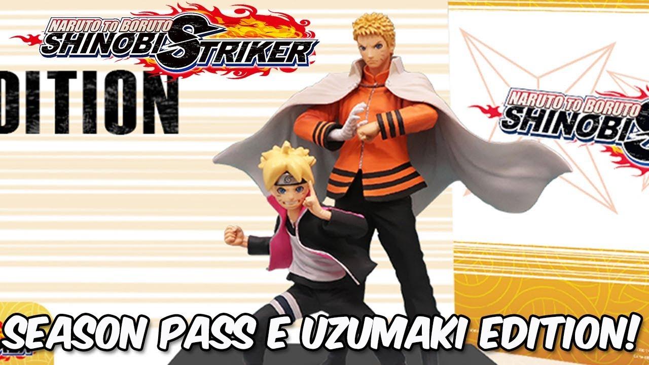 Naruto to Boruto Shinobi Striker - Season Pass, Uzumaki Edition e data de  lançamento americana!