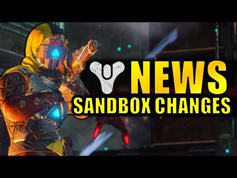 Destiny 2 News: HUGE BUFFS! Movement Speed! Power Ammo & More! | Sandbox Update