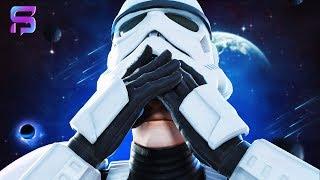 IMPERIAL STORMTROOPER FACE REVEAL - Fortnite Star Wars