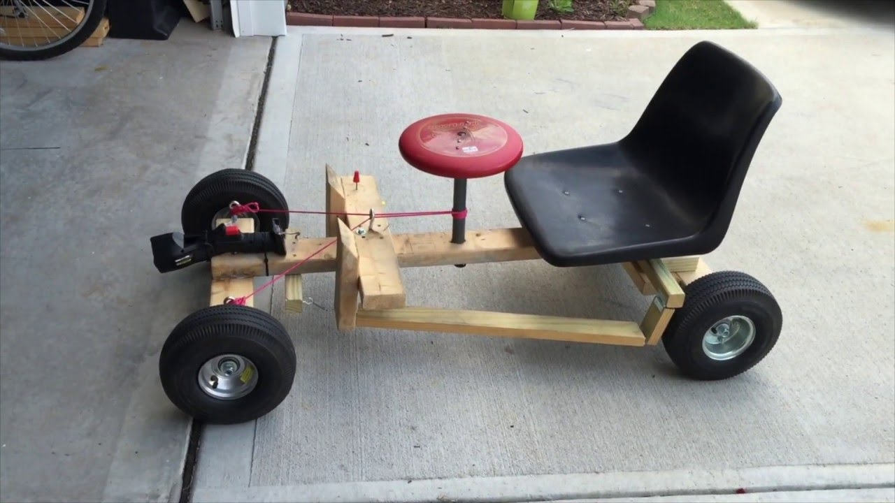 Go Kart Drill Powered Youtube