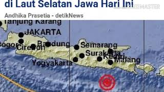 Download Video Gempa Terkini: Gempa Hari Ini Terjadi 2 kali Di Laut Selatan MP3 3GP MP4