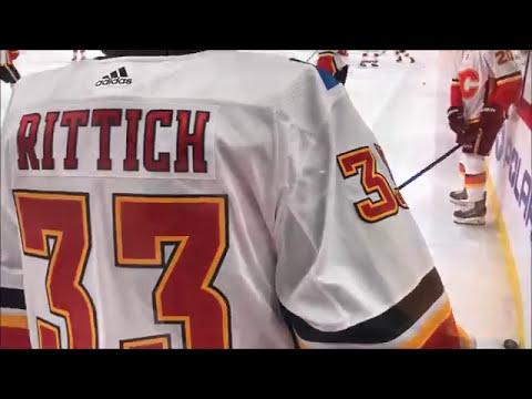 Calgary Flames Warm-Ups - 1.10.17