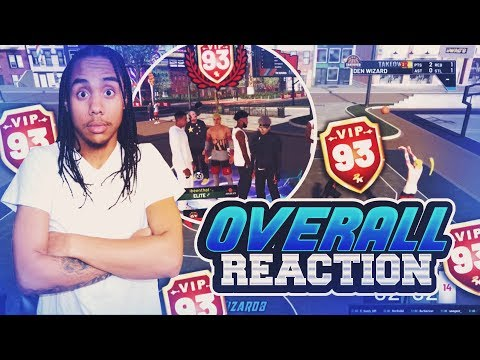 Live Reaction Hitting 93 Overall NBA 2K19