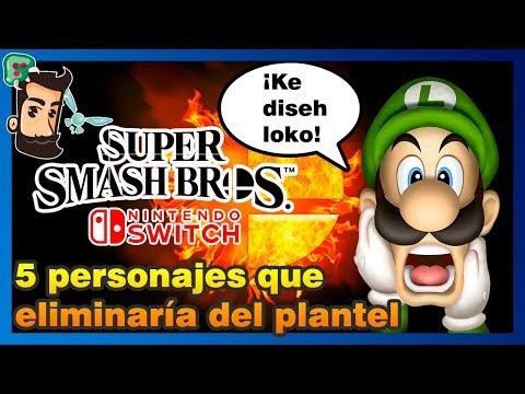 5 personajes que QUITARÍA para Super Smash Bros 5 Switch | Opinión