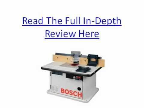 Bosch ra1171 cabinet style router table review youtube keyboard keysfo Image collections