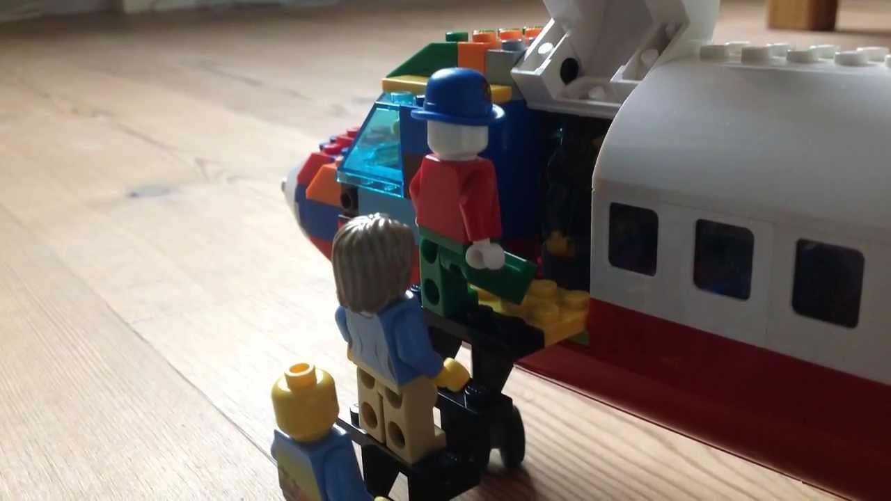 My Lego custom Plane! - YouTube
