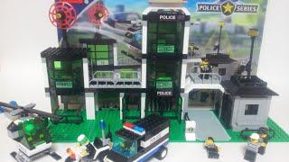 레고 인라이튼 110 경찰본부 시리즈 스톱모션 조립 LEGO Enlighten Police He