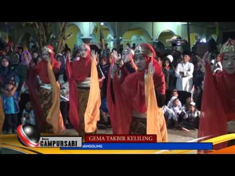 GEMA TAKBIR KELILING CAMPURSARI 2017-AL-IMAN