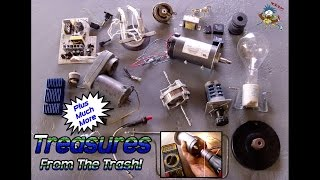 Electrical Items & Other Treasures From The Trash!