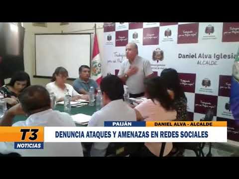 DENUNCIA ATAQUES Y AMENAZAS EN REDES SOCIALES