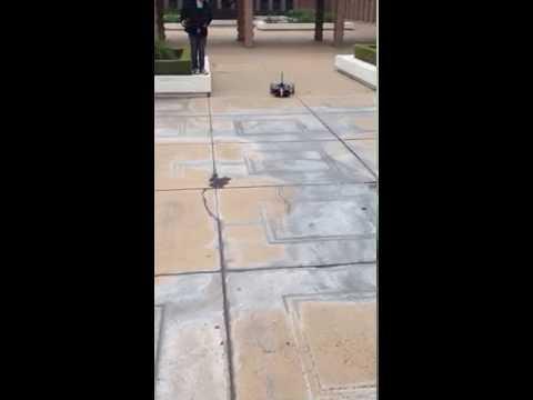 Autonomous Mobile Robot Navigates a Course at Harvey Mudd College