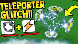 *NEW* TELEPORTER GLITCH!!⚡ | Build a boat for