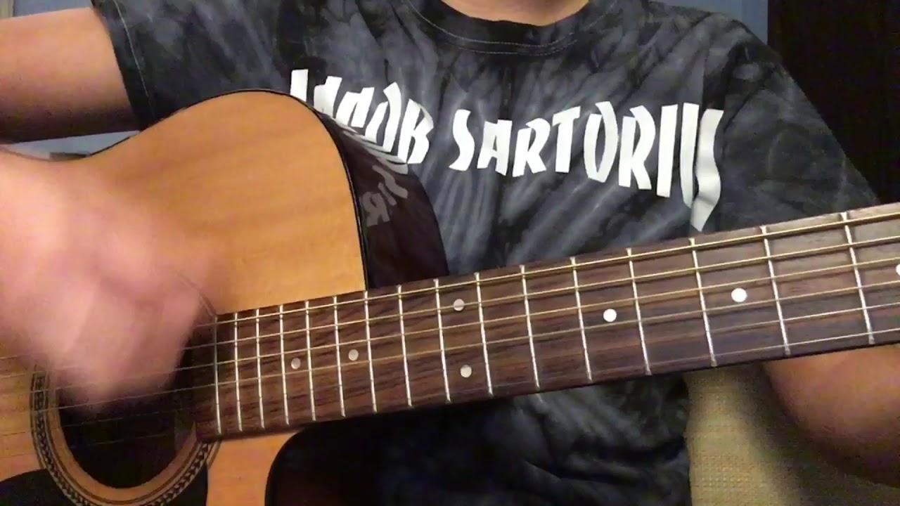 Sweatshirt by Jacob Sartorius - Guitar Tutorial - YouTube