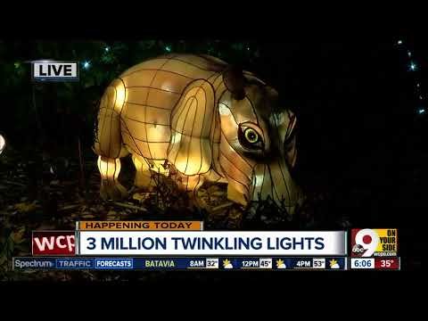 Zoo turns on lights for 35th annual Festival of Lights