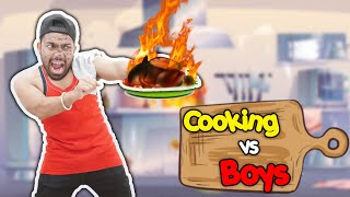 Boys Vs Cooking | Guddu Bhaiya