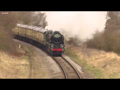 Take a journey on a stream train on new...
