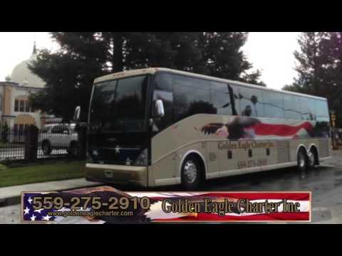 Golden Eagle Charter | Coach Bus, Party Bus, Mini Bus & Executive Coach Rentals in Fresno, CA