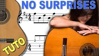TUTO - NO SURPRISES RADIOHEAD - Arpeggio Guitar
