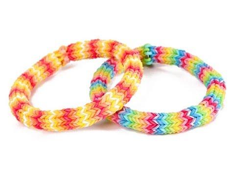 Rainbow Loom Hexafish 6 Pin Fishtail Bracelet Tutorial 6 Pin
