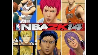 NBA 2K14- The Generation of Miracle(KNB MOD)