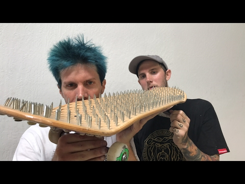 BED OF NAILS GAME OF SKATE | FETTY VS DOUG