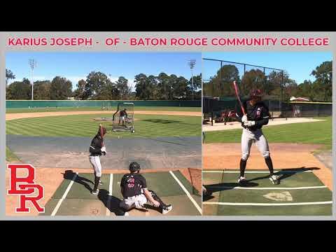Karius Joseph - OF - Baton Rouge Community College - Fall 2020 Pro Day
