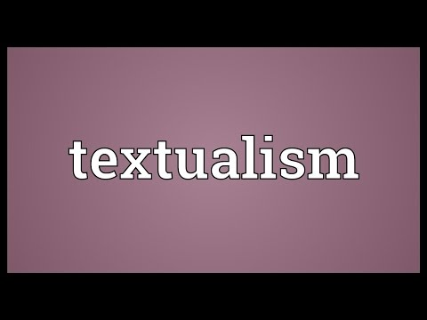 Header of textualism